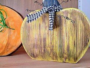 Dekorácie - Tekvica žltá - 11208242_