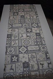Úžitkový textil - VÁNOČNÍ BĚHOUN ... - 11207330_