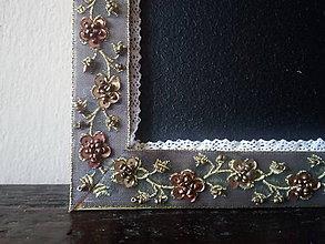 Tabuľky - Magnetická tabuľka 44 (33,3cm x 43cm) - 11208092_