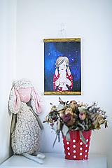 Detské doplnky - Ovka&Malá Marta - obrázok na stenu - 11208428_