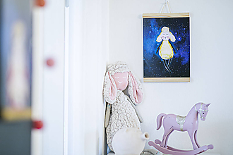 Detské doplnky - Moja Ovka - obrázok na stenu (A4) - 11208465_