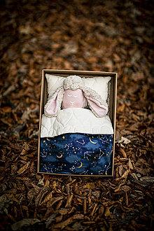 Hračky - Ovka - Darčekové balenie Vesmír (Ovka v škatuli  - Béžová-staroružové-telové-ružové hnátiky) - 11209075_