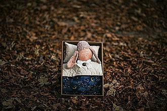 Hračky - Ovka - Darčekové balenie Vesmír (Ovka v škatuli - Ružová-čierne hnátiky) - 11209339_