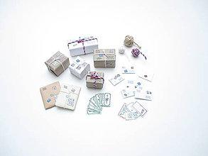 Hračky - Mini poštový setík pre barbie - 11208898_