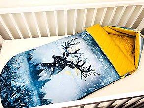 Textil - Zimný fusák pre bábätko - 11208076_