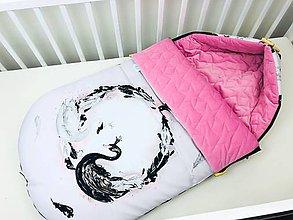 Textil - Zimný fusák pre bábätko - 11208080_
