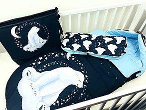 Textil - Zimný fusák pre bábätko - 11208128_