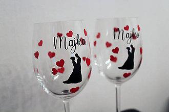 Nádoby - Svadobné poháre - 11207153_