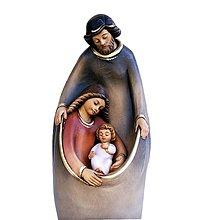 Dekorácie - Svätá rodina - Vianočná dekorácia - 11207454_
