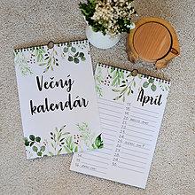 Papiernictvo - Vecny, alebo Narodeninovy kalendar GREENERY - 11208741_
