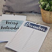 Papiernictvo - Vecny, alebo Narodeninovy kalendar Watercolor - 11208752_