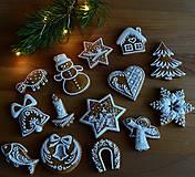 Dekorácie - Sada vianočných medovníkov N°1 - 11209033_