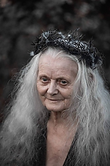"Ozdoby do vlasov - Halloween polvenček ""pavučinky noci"" - 11207566_"