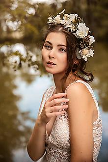 """Ozdoby do vlasov - Kvetinový venček """"veriť snom"""" - 11208739_"""
