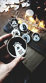 Medvedíky- vianočné ozdoby