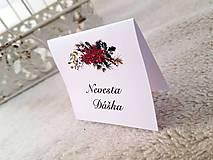 """Papiernictvo - Menovky """"Vianočná vôňa"""" - 11207804_"""