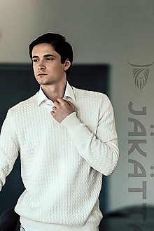 Svetre/Pulóvre - Pánsky sveter - 100% kašmír - 11206417_