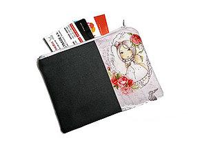 Peňaženky - taštička do kabelky 15,5x11cm - 11208799_