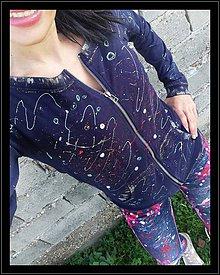 """Mikiny - Mikina """"galaxy"""" - 11209840_"""