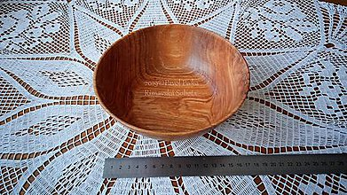 Nádoby - Miska z dreva (Čerešňa) - 11207920_