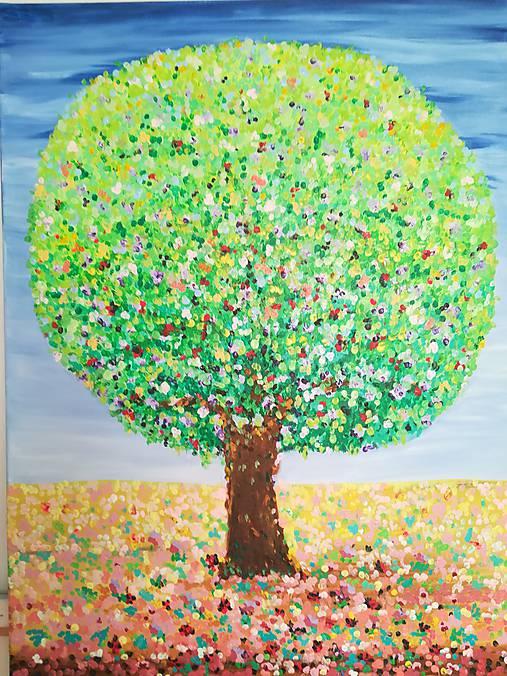 Strom harmónie - originál obraz