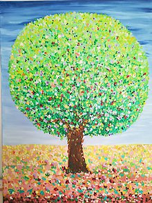 Obrazy - Strom harmónie - originál obraz - 11206960_