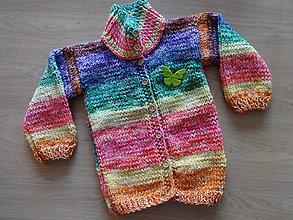 Detské oblečenie - Dívčí svetr - 11209124_