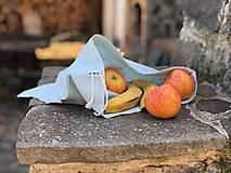 Úžitkový textil - Nákupné ľanové vrecko - 11209141_