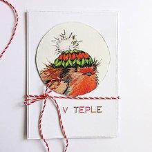 Papiernictvo - Pohľadnica Vianoce - 11210190_