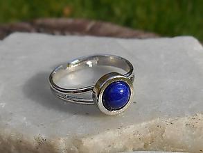 Prstene - lapis-lazuli-ring - 11209983_
