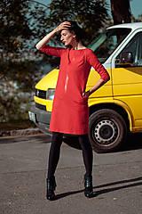 Šaty - FNDLK úpletové šaty 436 RVL - 11210684_
