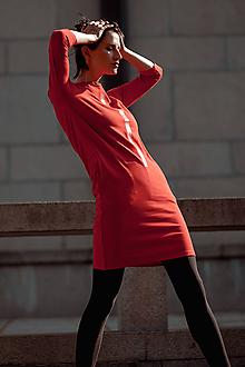Šaty - FNDLK úpletové šaty 436 RVL - 11210682_