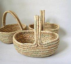 Košíky - Darčekový košík s rukoväťou - 11211800_