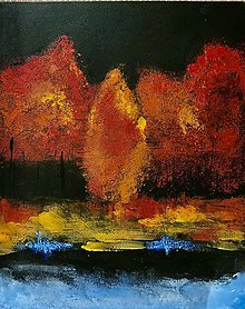 Obrazy - Jesenná nostalgia - 11212113_