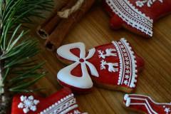Dekorácie - Sada vianočných medovníkov N°2 - 11212286_