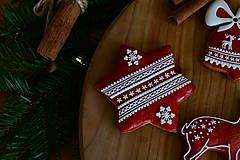 Dekorácie - Sada vianočných medovníkov N°2 - 11212290_
