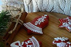 Dekorácie - Sada vianočných medovníkov N°2 - 11212291_