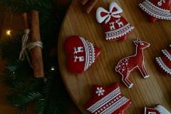 Dekorácie - Sada vianočných medovníkov N°2 - 11212292_