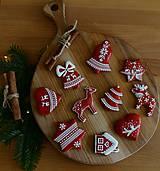 Dekorácie - Sada vianočných medovníkov N°2 - 11212293_