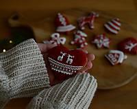 Dekorácie - Sada vianočných medovníkov N°2 - 11212294_