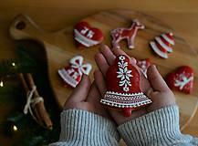 Dekorácie - Sada vianočných medovníkov N°2 - 11212297_