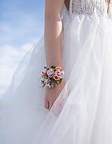 """Náramky - Kvetinový náramok """"letmé prebudenie"""" - 11211207_"""
