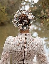"""Ozdoby do vlasov - Svadobný pletenec """"kroky za snami"""" - 11211295_"""