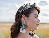 """Náušnice - Kvetinové náušnice """"snívať s tebou"""" - 11211741_"""