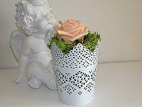 Dekorácie - Ruža dekor - 11211722_