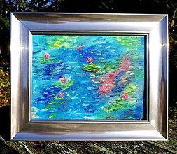 Obrazy - Water Lilies - olej na plátne - 11212672_