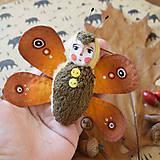 Hračky - Pán Motýlik - Hnedý - 11212298_