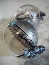 Dekorácie - RUŽOVO-FIALOVÉ vianočné gule s 3D fotkou - 11210328_