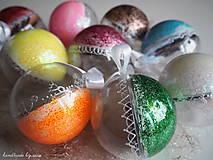 Dekorácie - FAREBNÉ vianočné gule s 3D fotkou - 11210352_