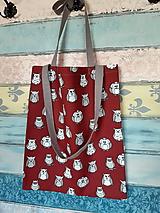 Nákupné tašky - Taška pro slečnu ze soví školky - 11212852_